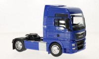 1/32 CAMION MINIATURE DE COLLECTION TRACTEUR MAN TGX 18.440 (4X2)BLEU WELLY 32650SBLEU