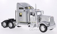 1/32 KENWORTH CAMION MINIATURE DE COLLECTION TRACTEUR KENWORTH W900 ARGENT-WELLY32660SIL