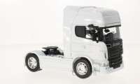 1/32 CAMION MINIATURE DE COLLECTION TRACTEUR SCANIA R 730 V8 (4X2)BLANC-WELLY32670S