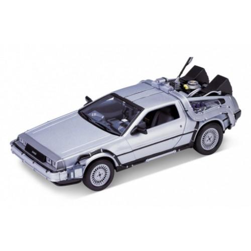1 24 voiture du film delorean retour vers le futur episode 1 1983 welly22443 vente de. Black Bedroom Furniture Sets. Home Design Ideas
