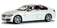 1/18 VOITURE MINIATURE DE COLLECTION BMW 335 i blanc-2010-WELLYWEL18043WE