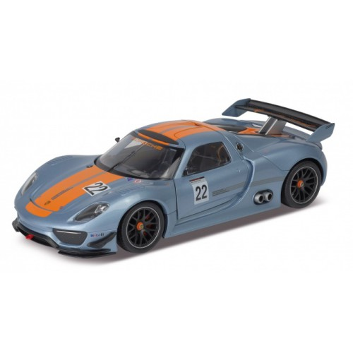 1 24 voiture miniature de collection porsche 918 rsr 2014 wellywel24044 vente de voitures. Black Bedroom Furniture Sets. Home Design Ideas