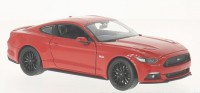 1/24 VOITURE MINIATURE DE COLLECTION Ford Mustang rouge-2015-WELLYWEL24062RE