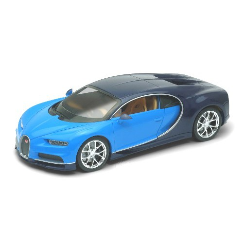 1 24 voiture miniature de collection bugatti chiron bleu. Black Bedroom Furniture Sets. Home Design Ideas