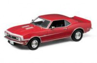 1/18 VOITURE MINIATURE DE COLLECTION CHEVROLET CAMARO SS 396 1968-WELLY12556