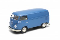 1/18 COMBI MINIBUS MINIATURE DE COLLECTION Volkswagen T1 Van bleu-WELLYWEL18053blue