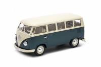 1/18 COMBI MINIBUS DE COLLECTION Volkswagen T1 vert/blanc-WELLYWEL18054GRN