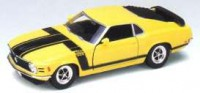 1/24 VOITURE MINIATURE DE COLLECTION FORD MUSTANG BOSS 302 1970-WELLY22088