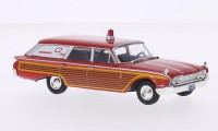 1/43 VOITURE MINIATURE DE COLLECTION Ford Ambulance-1964-WHITEBOX