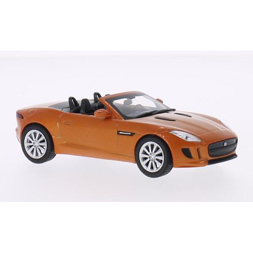 1 43 voiture miniature jaguar f type s cabriolet orange m tallis 2014 whitebox vente de. Black Bedroom Furniture Sets. Home Design Ideas