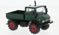 1/43 CAMION MINIATURE DE COLLECTION Mercedes Unimog 406 vert-1956-WHITEBOXWHT197