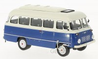 1/43 AUTOBUS/AUTOCARS MINIATURE DE COLLECTION Robur LO3000 bleu/blanc-1972-WHITEBOXWHT263