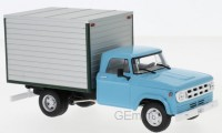 1/43 CAMION MINIATURE DE COLLECTION Dodge D400 box van bleu clair/gris-1971-WHITEBOXWHT275