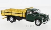 1/43 CAMION MINIATURE DE COLLECTION Chevrolet 6400 vert foncé-1949-WHITEBOXWHT276