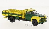 1/43 CAMION MINIATURE DE COLLECTION Chevrolet C 6500 jaune/vert-1958-WHITEBOXWHT279
