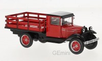 1/43 CAMION MINIATURE DE COLLECTION Ford AA Platform Truck rouge-1928-WHITEBOXWHT290