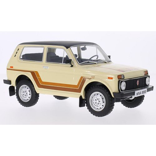 1 18 voiture miniature de collection lada niva 500 beige 1981 mdg vente de voitures miniatures. Black Bedroom Furniture Sets. Home Design Ideas