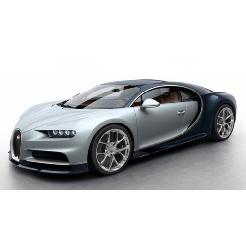 1 18 voiture miniature bugatti chiron turquoise carbonne argent 2016 mr vente de voitures. Black Bedroom Furniture Sets. Home Design Ideas