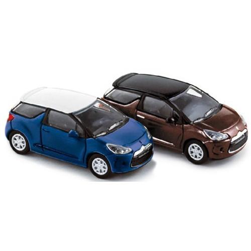 1 87 ho lot de 2 citroen ds3 2010 norev vente de voitures miniatures pour collectionneurs. Black Bedroom Furniture Sets. Home Design Ideas