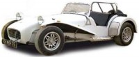 1/43 caterham super seven 1979 old english blanc