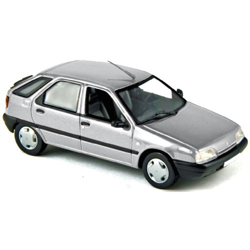 1 43 voiture citroen zx argent 1991 norev vente de voitures miniatures pour collectionneurs. Black Bedroom Furniture Sets. Home Design Ideas