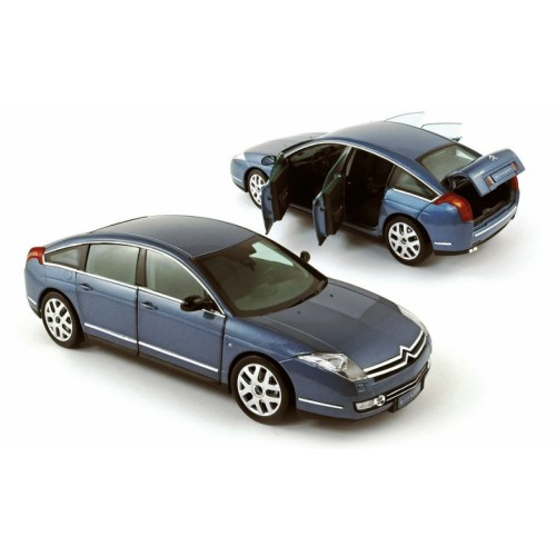 1 18 citroen c6 limousine 2005 gris fer norev vente de voitures miniatures pour collectionneurs. Black Bedroom Furniture Sets. Home Design Ideas
