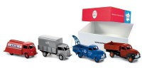 1/43 coffret de 4 camions:2 studebaker+2 ford poissy-NOREV/CIJC80905