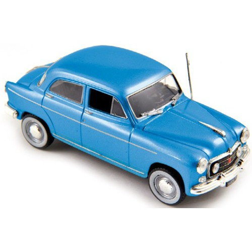 1 43 voiture fiat 1900 a bleu 1954 norev vente de voitures miniatures pour collectionneurs. Black Bedroom Furniture Sets. Home Design Ideas