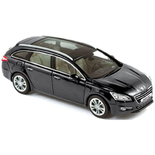 1 43 voiture peugeot 508 sw noir 2010 norev vente de. Black Bedroom Furniture Sets. Home Design Ideas