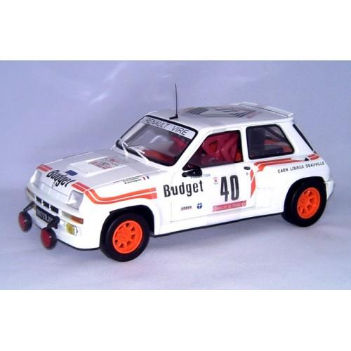 1 18 renault 5 turbo budget 1984 16eme tour de corse vente de voitures miniatures pour. Black Bedroom Furniture Sets. Home Design Ideas