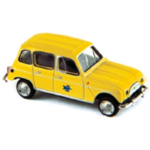1 87 ho renault 4l la poste 1962 norev vente de voitures miniatures pour collectionneurs. Black Bedroom Furniture Sets. Home Design Ideas