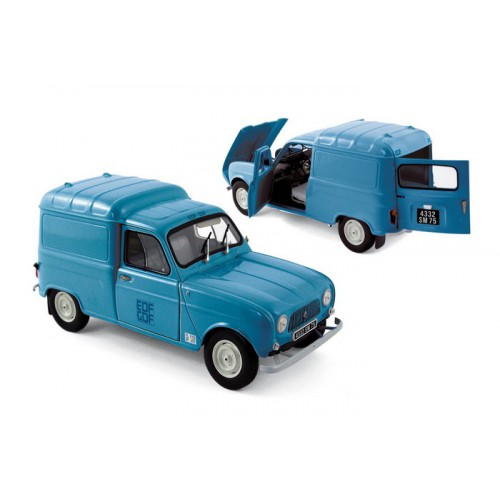 1 18 renault 4l f4 edf gdf 1965 norev vente de voitures miniatures pour collectionneurs. Black Bedroom Furniture Sets. Home Design Ideas