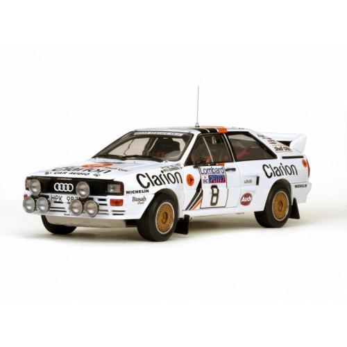1 18 audi quattro a2 4 me rallye rac 1985 pilote eklund cederberg sunstar vente de voitures. Black Bedroom Furniture Sets. Home Design Ideas