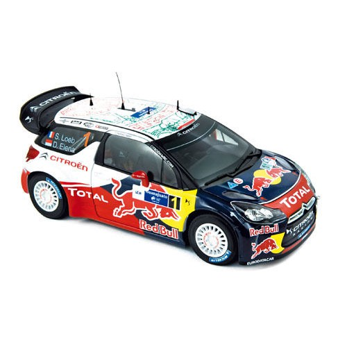 1 18 voiture citroen ds3 wrc rallye du mexique 2011 s loeb d elena vente de voitures. Black Bedroom Furniture Sets. Home Design Ideas