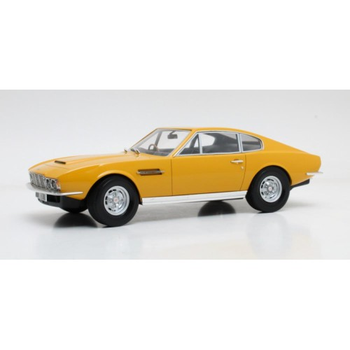 1 18 aston martin dbs jaune 1968 amicalement votre cult models vente de voitures miniatures. Black Bedroom Furniture Sets. Home Design Ideas