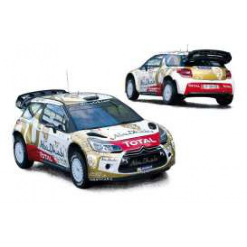 1 18 voiture miniature citroen ds 3 wrc 8 me rallye monte carlo 2015 loeb elena norev vente de. Black Bedroom Furniture Sets. Home Design Ideas
