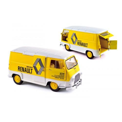 1 18 renault estafette assistance renault jaune 1972 vente de voitures miniatures pour. Black Bedroom Furniture Sets. Home Design Ideas