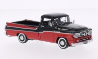1/43 VEHICULE MINIATURE DE COLLECTION Dodge Pick up rouge/noir-1959-NEO