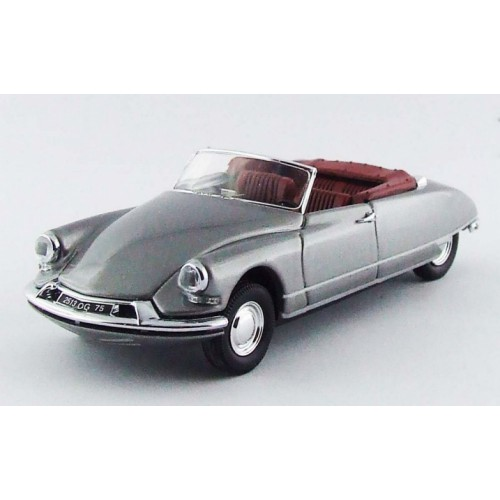 1 43 voiture miniature de collection citroen ds cabriolet gris m tallis 1961 rio vente de. Black Bedroom Furniture Sets. Home Design Ideas