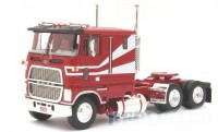 1/43 CAMION MINIATURE DE COLLECTION Ford W 9000 rouge/blanc-1978-NEO