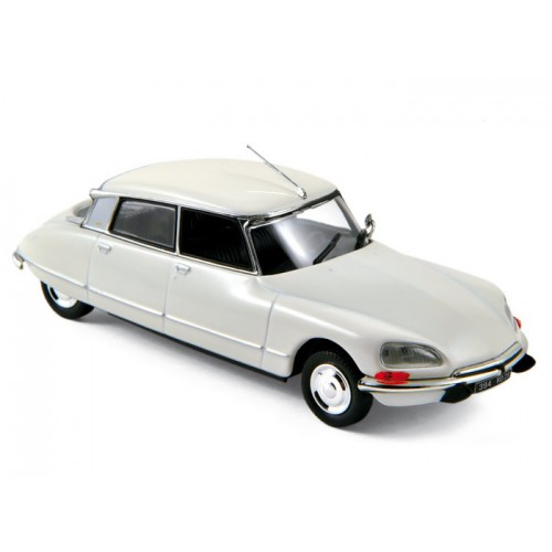 1 43 voiture miniature de collection citroen ds 23 blanc meige 1973 norev vente de voitures. Black Bedroom Furniture Sets. Home Design Ideas