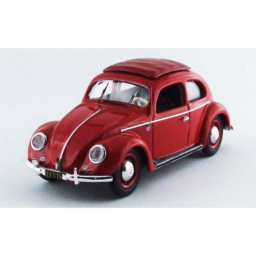 1 43 voiture miniature volkswagen coccinelle rouge v hicule personnel d 39 elvis presley rio. Black Bedroom Furniture Sets. Home Design Ideas