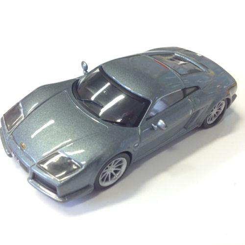 1 43 voiture miniature de collection noble m14 grise sport cars ixo vente de voitures. Black Bedroom Furniture Sets. Home Design Ideas