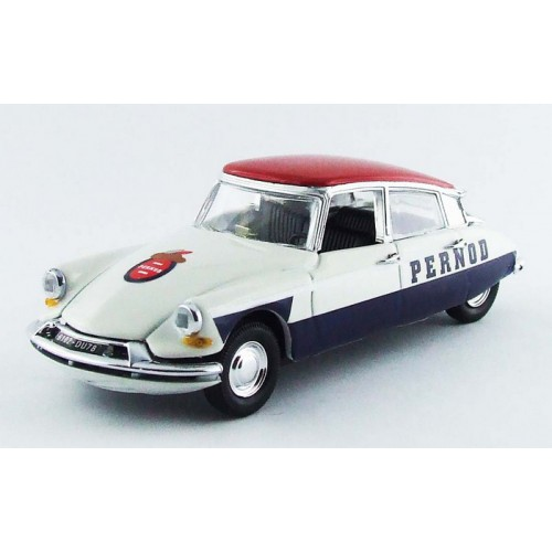 1 43 voiture miniature de collection citroen ds 21 pernod 1967 rio vente de voitures. Black Bedroom Furniture Sets. Home Design Ideas