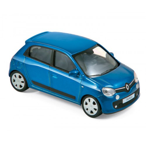 1 43 voiture miniature renault twingo bleu gamme jetcar. Black Bedroom Furniture Sets. Home Design Ideas