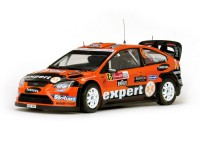 1/18 FORD Focus RS WRC08 6ème rallye du Mexique-2010-SUNSTAR