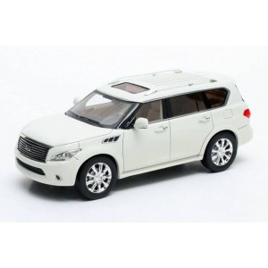 1/43 voiture Infinity QX56 blanc 2011 GLM43300602