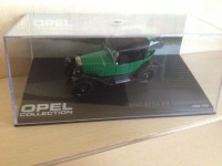 1/43 OPEL COLLECTION OPEL 4/12 PS LAUBFROSCH 1924-1926