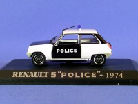 1/43 renault 5 police 1974 uh