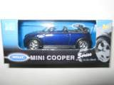 1/60 voiture mini cooper e cabrio welly